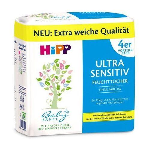 Hipp hypoalergiczne nawilżane chusteczki do ciała - hypoalergiczne nawilżane chusteczki do ciała (4062300301993)