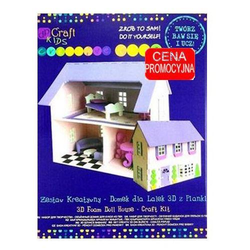 Zestaw kreatywny - domek dla lalek 3D z pianki