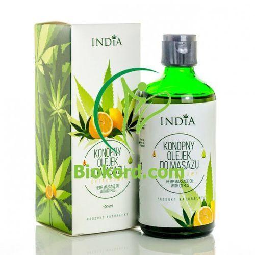 Olejek do masażu cytrusowy , 100ml marki India cosmetics