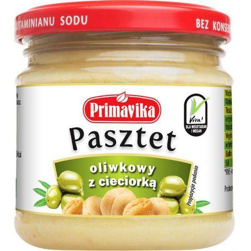 Pasztet oliwkowy z cieciorką 160g Primavika, 376