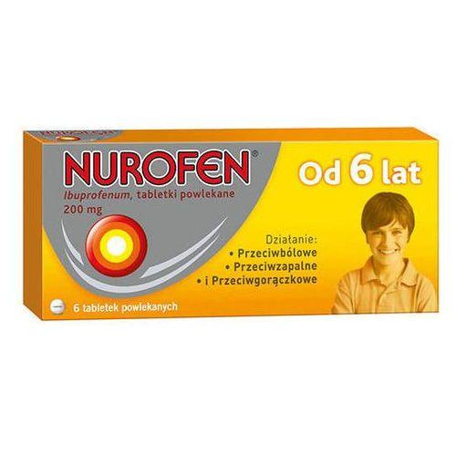 NUROFEN 200mg od 6 lat x 6 tabletek z kategorii pozostałe zdrowie