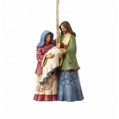 Święta rodzina zawieszka holy family (hanging ornament) 4058837 figurka ozdoba świąteczna marki Jim shore
