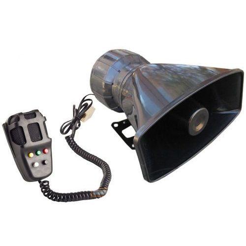 Syrena ton z megafonem ala policyjna fanfara 5 TON 80W (5900768462421)