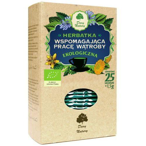 Dary natury Herbata wspomagająca pracę wątroby eko