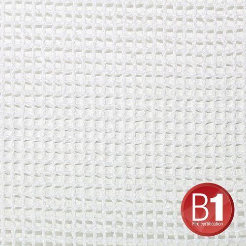 Adam hall 0156 x 45 w - gaza typu 201, 4 x 5 m, z oczkami, biała