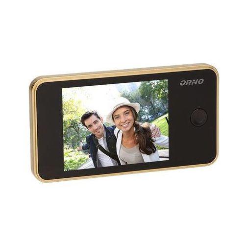 """Kamera do drzwi, WIZJER, JUDASZ, monitor LCD 3,2"""", złoty, OR-WIZ-1104/C (5901752487932)"""