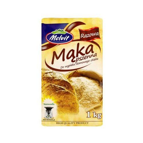 MELVIT 1kg Mąka pszenna razowa Typ 1850 do wypieku chleba