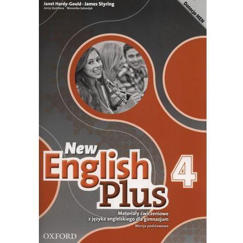 New English Plus 4 Materiały ćwiczeniowe wersja podstawowa 2017, oprawa miękka