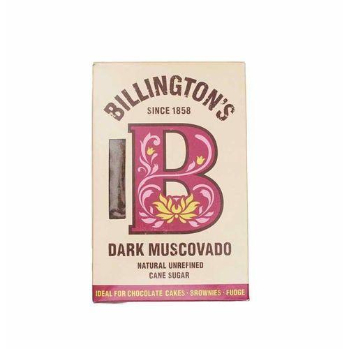 Cukier trzcinowy ciemny muscovado 0,5kg - billington's marki Helios