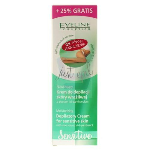 Eveline, Just Epil Sensitive. Krem do depilacji skóry wrażliwej, 125ml - Eveline OD 24,99zł DARMOWA DOSTAWA KIOSK RUCHU, 086110