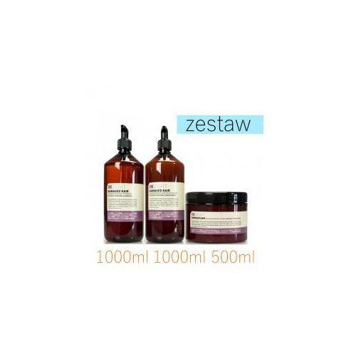 Insight Damaged Hair Zestaw do Zniszczonych Włosów Szampon 1000ml Odżywka 1000ml Maska 500ml
