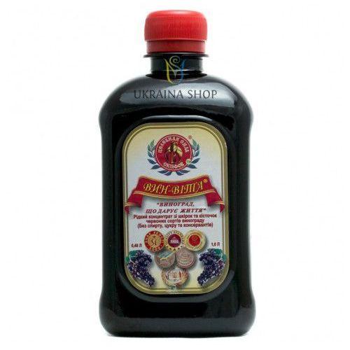Vin-vita płynny koncentrat z ciemnych odmian winogron, 0,49 l, zdrowie i młodość marki Remedium natura