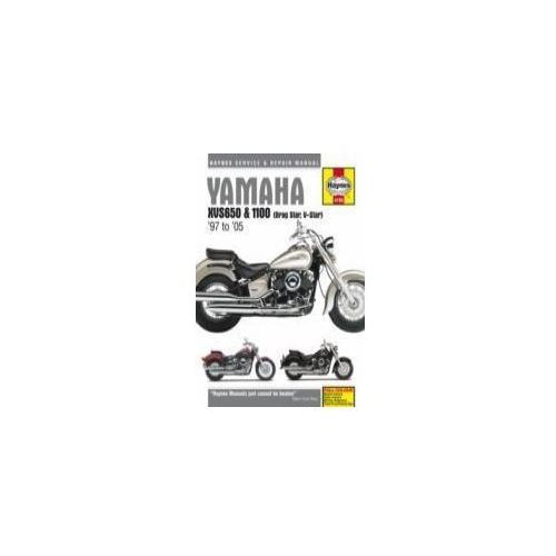 yamaha v star 650 service manual