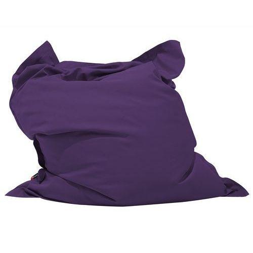 Pufa do siedzenia z powłoczką wewnętrzną 140 x 180 cm fioletowa (4260624113777)