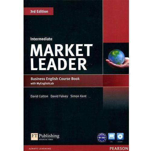 Market Leader Intermediate. Podręcznik + DVD + MyEnglishLab (9781447922278)