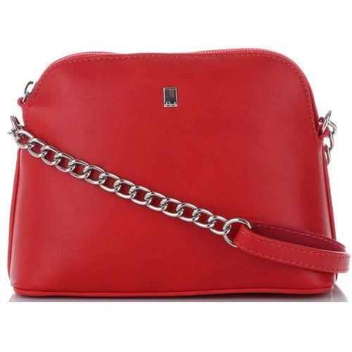 8fe44370801a9 Modne torebki damskie listonoszki wykonane z wysokiej jakości skóry  ekologicznej marki czerwone (kolory) marki David jones 69,00 zł modna  Listonoszka ...