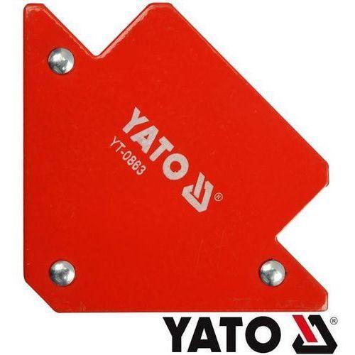 YATO Spawalniczy kątownik magnetyczny 82x120x13mm (YT-0863) z kategorii migomaty i półautomaty spawalnicze