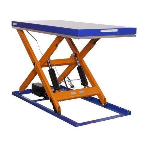 Kompaktowy stół podnośny,nośność 2000 kg