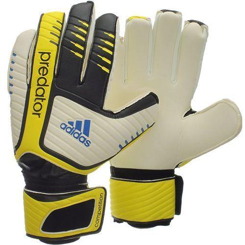 Nowe rękawice bramkarskie predator competition rozmiar 8 marki Adidas