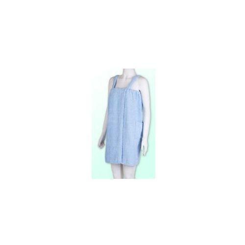 Produkcja własna Sauna pareo niebieski 100% bawełna damski 70*140 - gracja 5