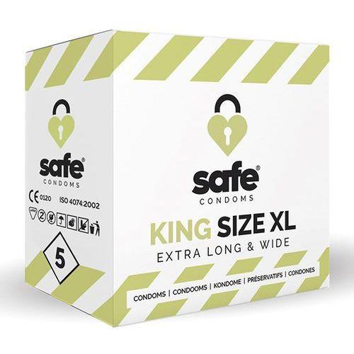 Prezerwatywy xl - king size xl condoms 5 szt marki Safe