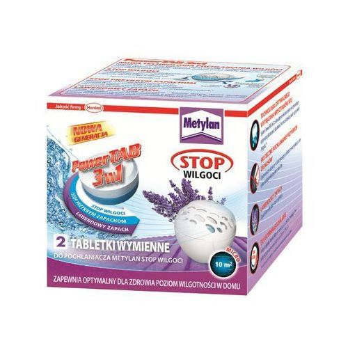 Tabletki wymienne Stop Wilgoci Power TAB Lawenda 2x300g Metylan - sprawdź w wybranym sklepie