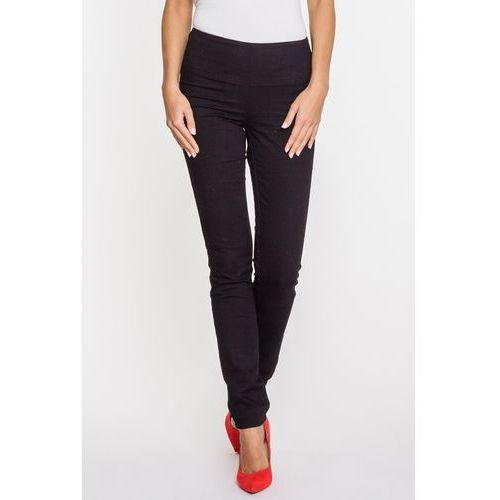 Rj rocks jeans Czarne jeansy z wysokim stanem -