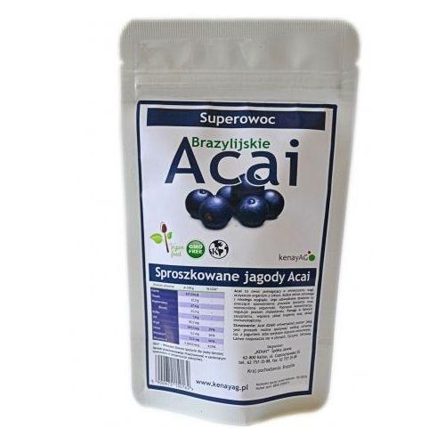 Acai suszone sproszkowane jagody Acai 150g, KENAY