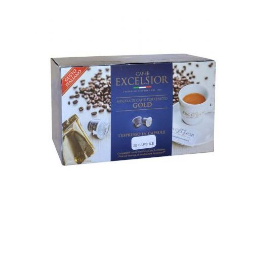 gold nespresso 20 kapsułek marki Excelsior