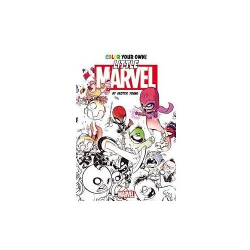 Color Your Own Little Marvel by Skottie Young (9780785195559)