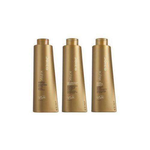 Joico K-Pak | Zestaw regenerujący: szampon + rekonstruktor + hydrator 3x1000ml (9753197531813)