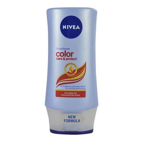 Nivea color protect conditioner 200ml w odżywka do włosów farbowanych