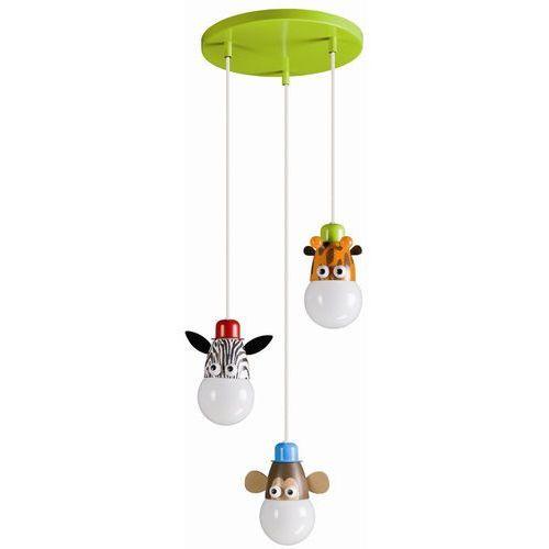40594/55/16 - żyrandol dziecięcy mykidsroom zoo 3xe27/12w marki Philips