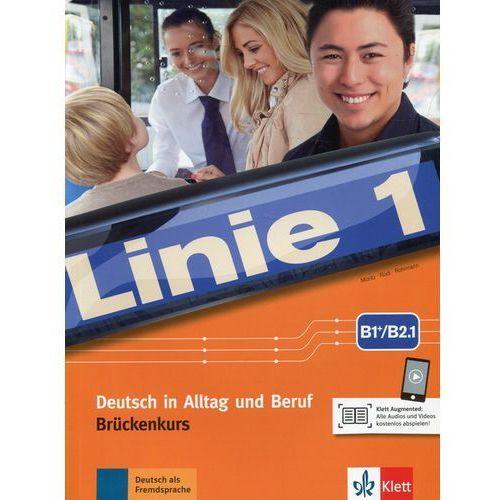 Linie 1 B1+/B2.1 Podręcznik i ćwiczenia mit Audios und Videos (176 str.)