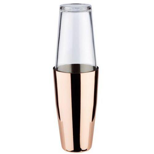 Shaker bostoński ze szklanką | miedziany | 0,7L