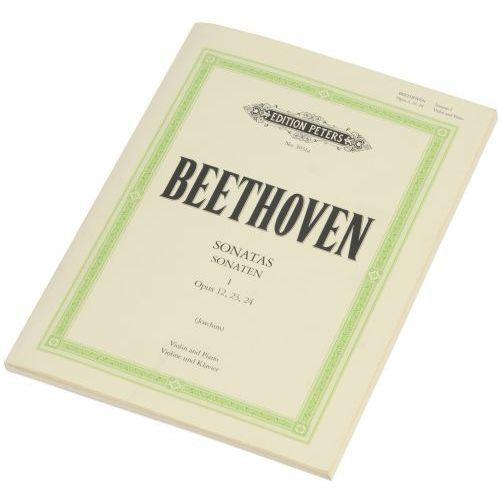 Pwm beethoven ludwig van - sonaty na skrzypce i fortepian (wyd. peters 51030311)