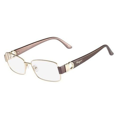 Okulary korekcyjne sf 2124r 717 marki Salvatore ferragamo