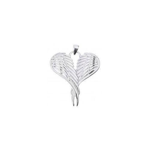 Serce skrzydła anioła i z łańcuszkiem marki Durango