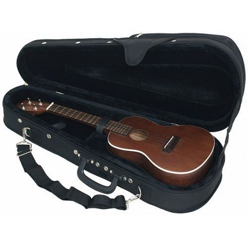 Rockcase 20851b futerał soft-light delux do ukulele koncertowego