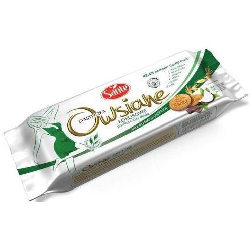 Ciastka owsiane kokos-czekolada 170g marki Sante