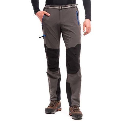 Spodnie męskie brenta - grey/blue marki Milo
