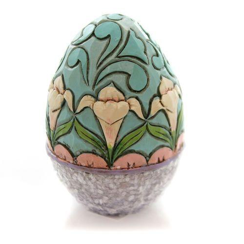 Pisanka jajko zdobiona w stylu wiktoriańskim Victorian Easter Eggs 4051407 Jim Shore figurka ozdoba świąteczna