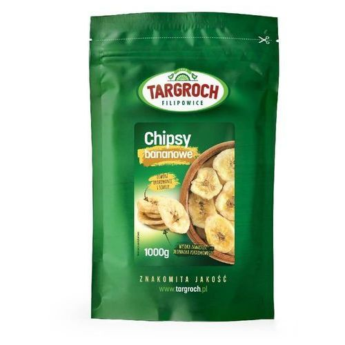Chipsy bananowe 1000g Targroch