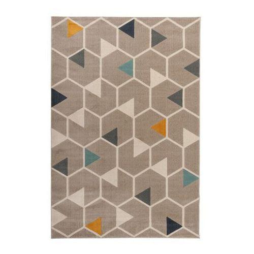 Dywan Capri 80 x 150 cm hexagon beżowy (5907736267316)