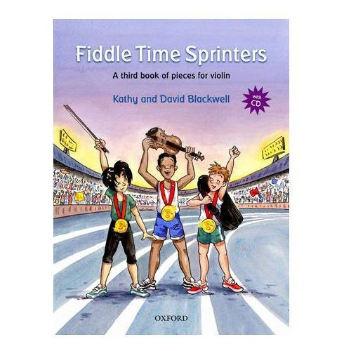 PWM Blackwell Kathy, David - Fiddle time sprinters. Violin book 3 (utwory na skrzypce + CD)