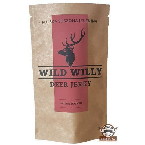 Wild willy Jelenina suszona wild jerky 30 g (5905669764117)