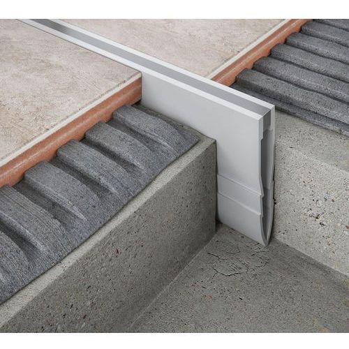 Listwa dylatacyjna pcv do betonu h=3,5cm l=2,5mb do wylewek betonowych - pakiet 10szt marki Emaga