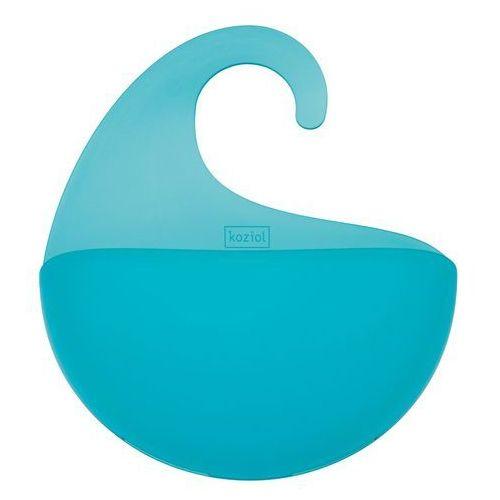 Organizer łazienkowy SURF XL - kolor turkusowy, KOZIOL, 2846620