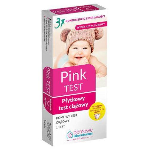 Pink Test ciążowy płytkowy x 1 sztuka, kolor różowy