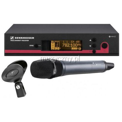 Sennheiser ew 100-935 g3 1g8 mikrofon bezprzewodowy doręczny, pasmo 1,8 ghz